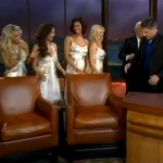 The Models on The Late Late Show